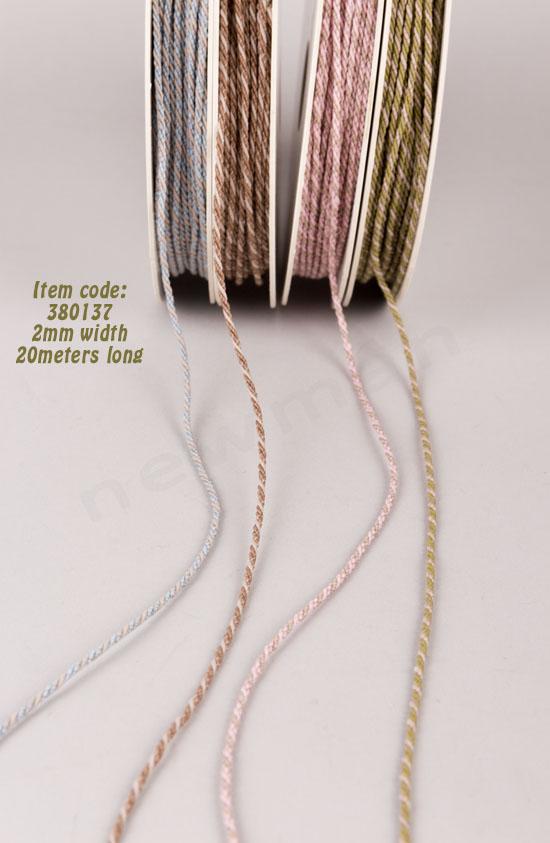 380137 ~ Κορδόνι φάρδους 2mm