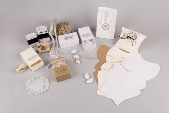 Σπιρτόκουτα και κουτιά φάκελοι DIY μπομπονιέρες