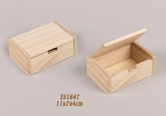 351647 κουτί ξύλινο