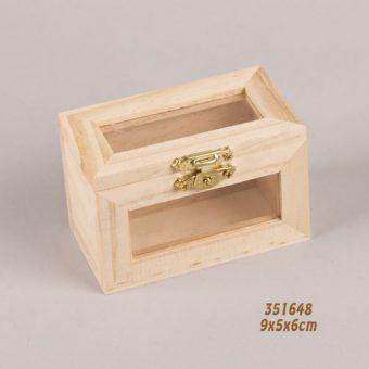 351648 κουτί με παραθυράκια