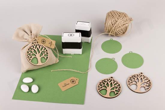 Υλικά μπομπονιέρας DIY Δέντρο Ζωής