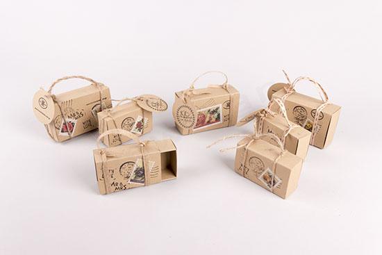Συρταρωτά κουτιά για μπομπονιέρες