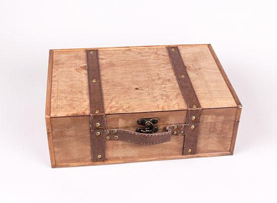 Ξύλινο κουτί βαλίτσα