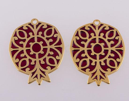 223951 Ρόδι βυζαντινό επίχρυσο
