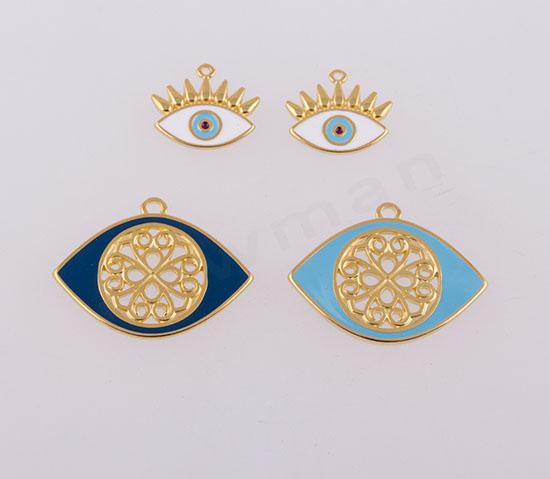 Μάτια μεταλλικά στοιχεία