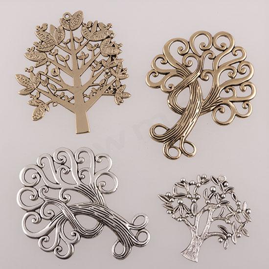 Δέντρο μεταλλικό για γούρι