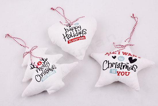 Βαμβακερά Χριστουγεννιάτικα τολίδια