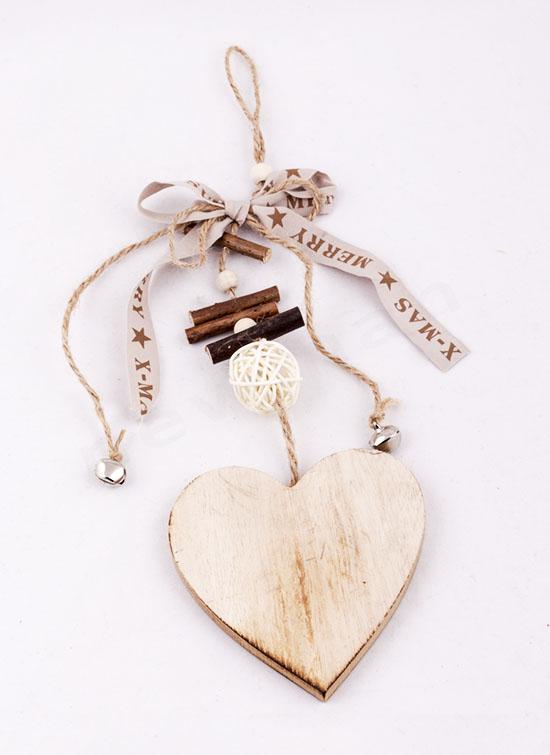 Καρδιά στολίδι 35cm