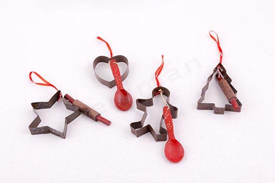 Φορμάκια ζαχαροπλαστικής στολίδια χριστουγεννιάτικα