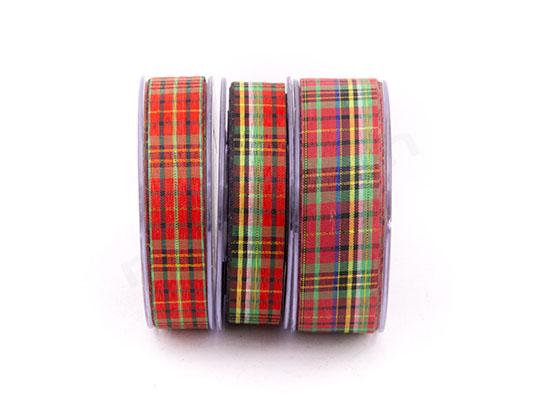 Καρό Scotch κορδέλες υφασμάτινες