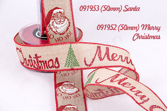 091953 (Santa) 091952 (Merry Christmas)