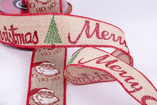 Λινατσο-κορδέλες χριστουγεννιάτικες
