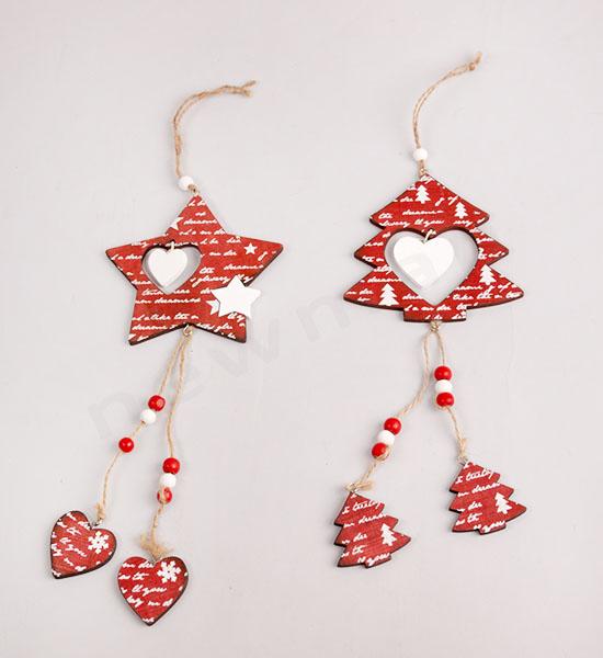 Κόκκινο αστέρι(310958) & κόκκινο δέντρο(310959)