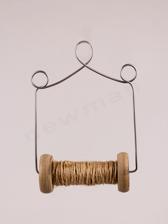 380170 Κουβαρίστρα με σπάγκο κρεμαστό διακοσμητικό