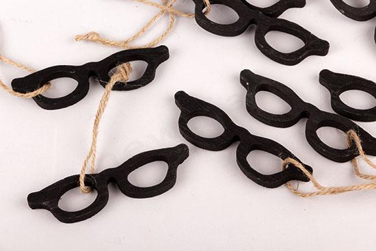 Σετ 10 ξύλινα γυαλιά
