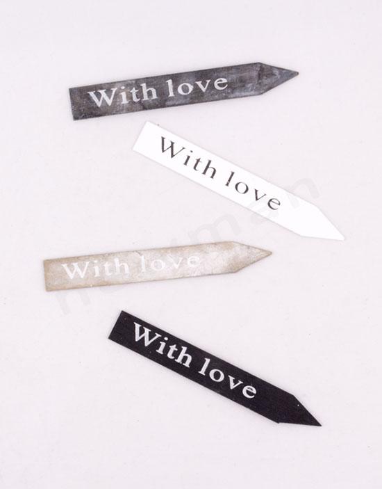 353019 Ταμπέλα With Love