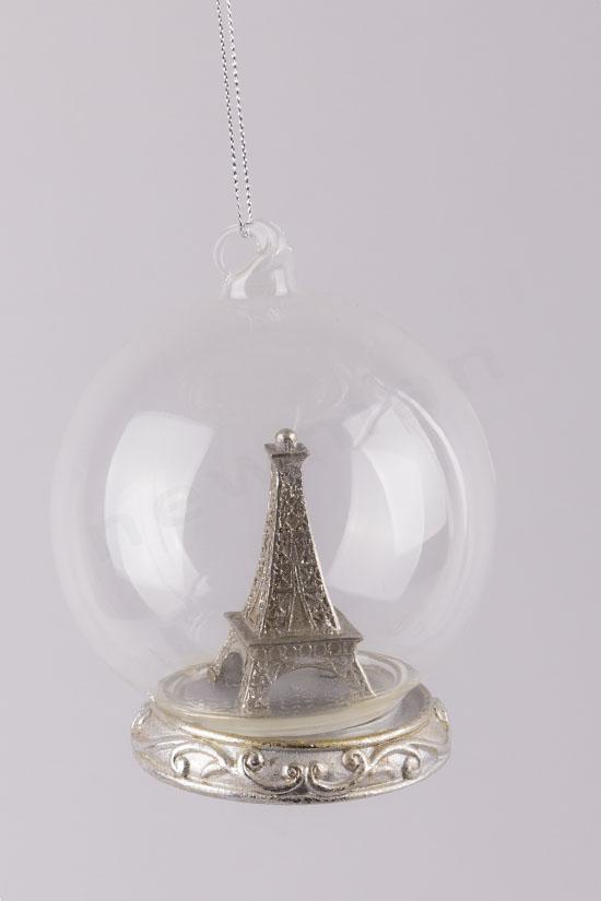 380188 Μπάλα Tour Eiffel (silver)