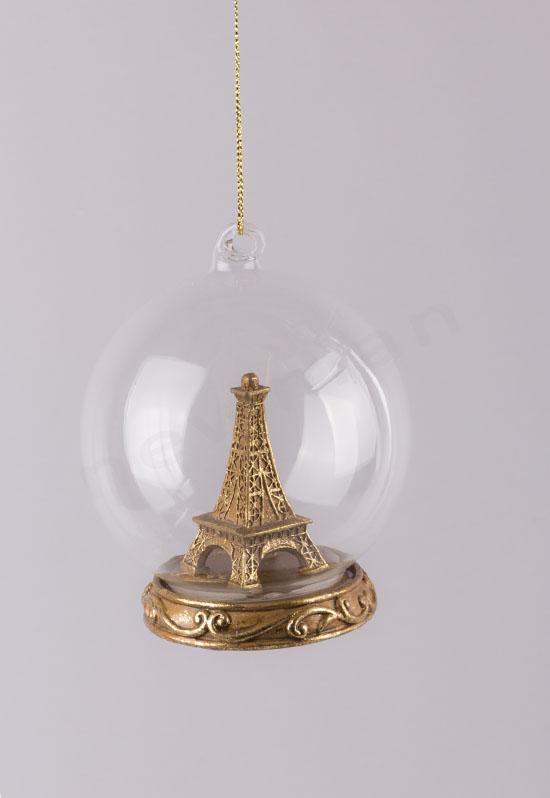 380189 Μπάλα Tour Eiffel (gold)