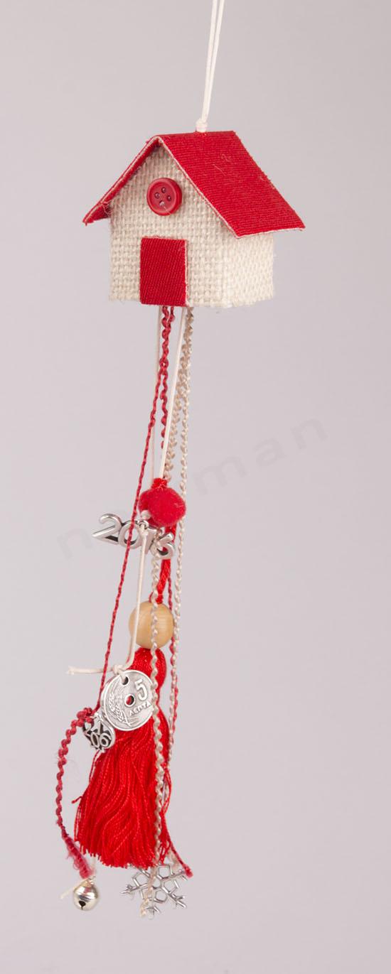 Κόκκινο σπιτάκι Ιδέα γούρι 2016