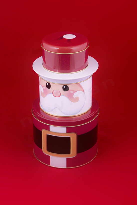 Μεταλλικό κουτί Άγιος Βασίλης