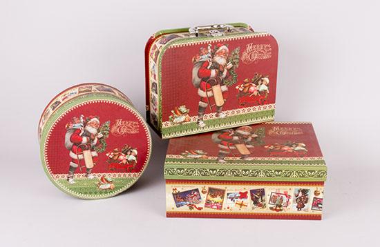 Χριστουγεννιάτικα χάρτινα κουτιά