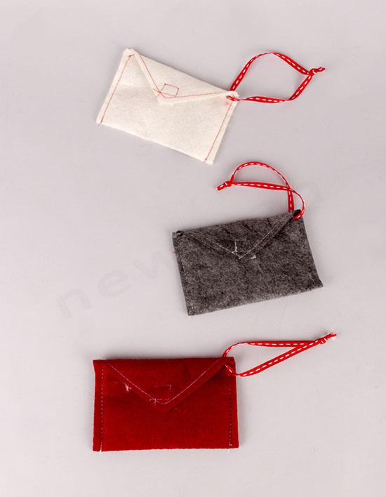 Υφασμάτινοι ταχυδρομικοί φάκελοι 11x6cm
