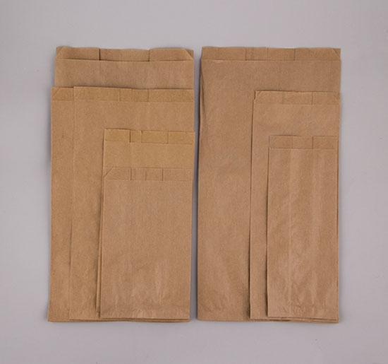 Σακούλες χάρτινες κραφτ σε 8 μεγέθη