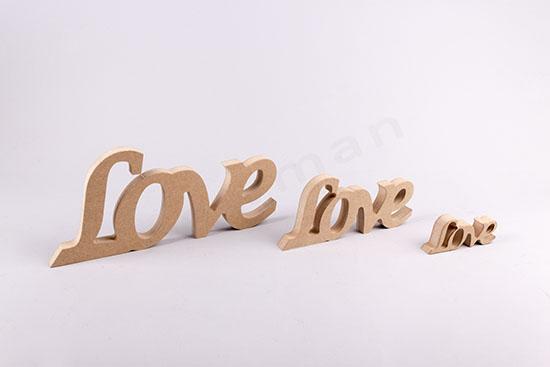 10cm, 20cm & 30cm LOVE