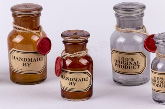 Γυάλινα μπουκάλια HANDMADE BY...