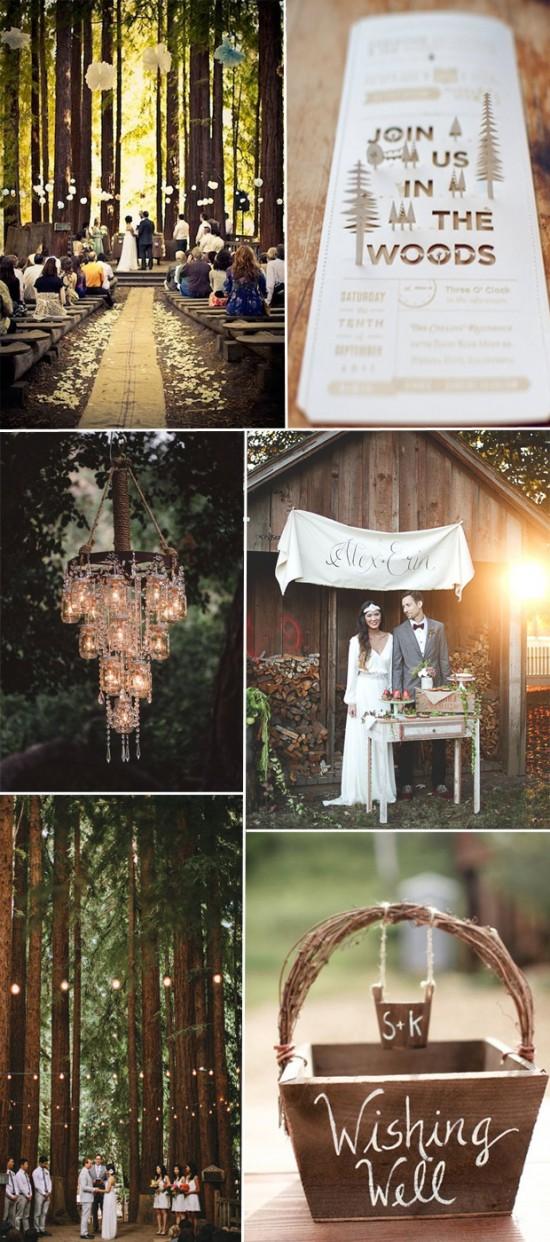 Υπάιθριος γάμος ρουστίκ 2016