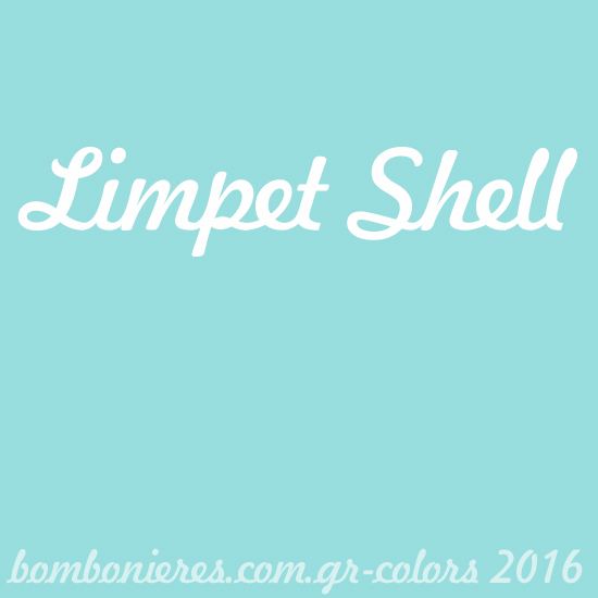 Limpet Shell- bombonieres.com.gr - Χρώματα 2016