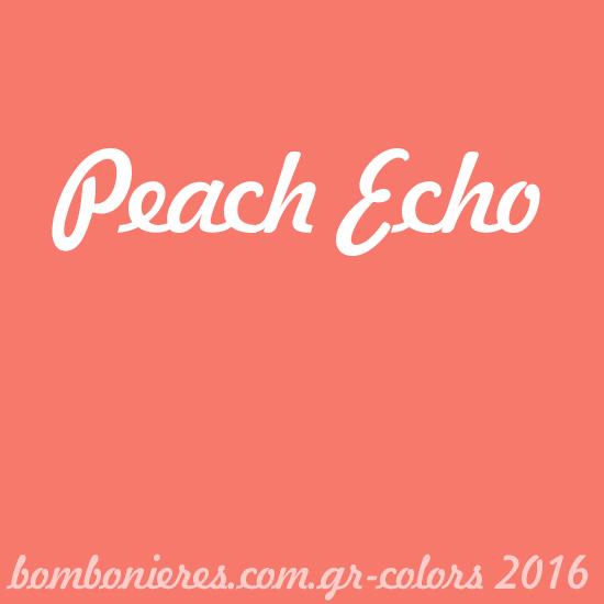 Peach Echo - bombonieres.com.gr - Χρώματα 2016