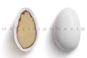 Αμυγδάλου κλασσικό λευκό ματ