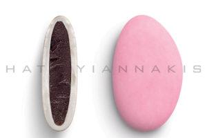 Bijoux κουφέτο σοκολάτας ροζ ανοιχτό ματ