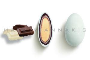 Choco Almond Double κουφέτο λευκό ματ
