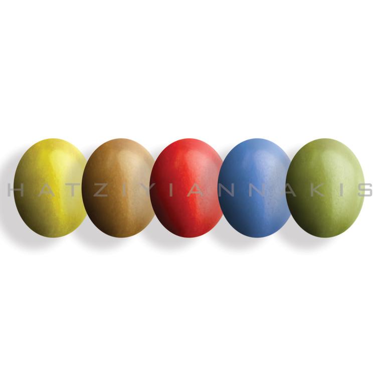Choco φιστίκι πολύχρωμο