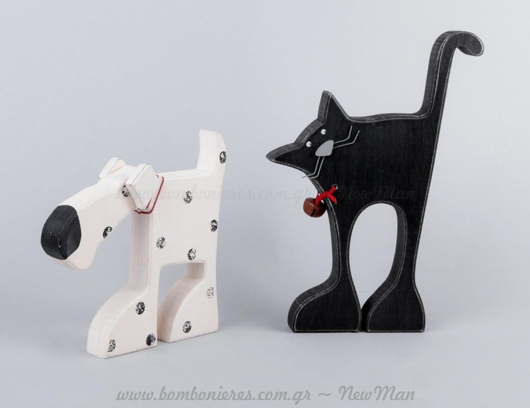 Γάτα & σκύλος