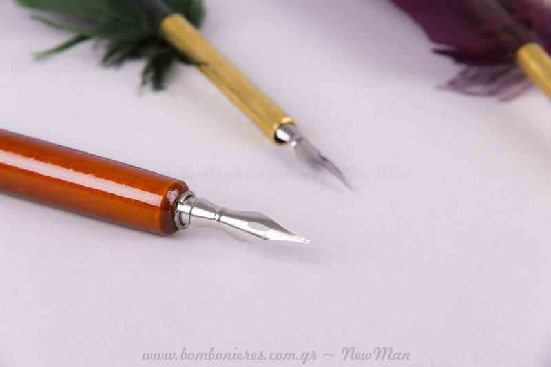 Καλλιγραφική πένα με φτερό