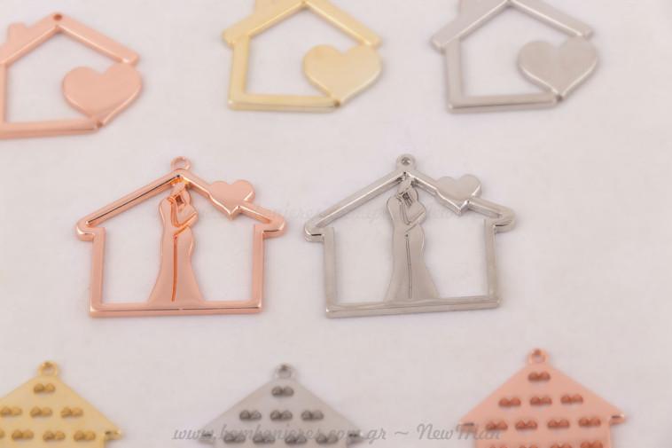 Διακοσμητικά μεταλλικά στοιχεία σπίτια