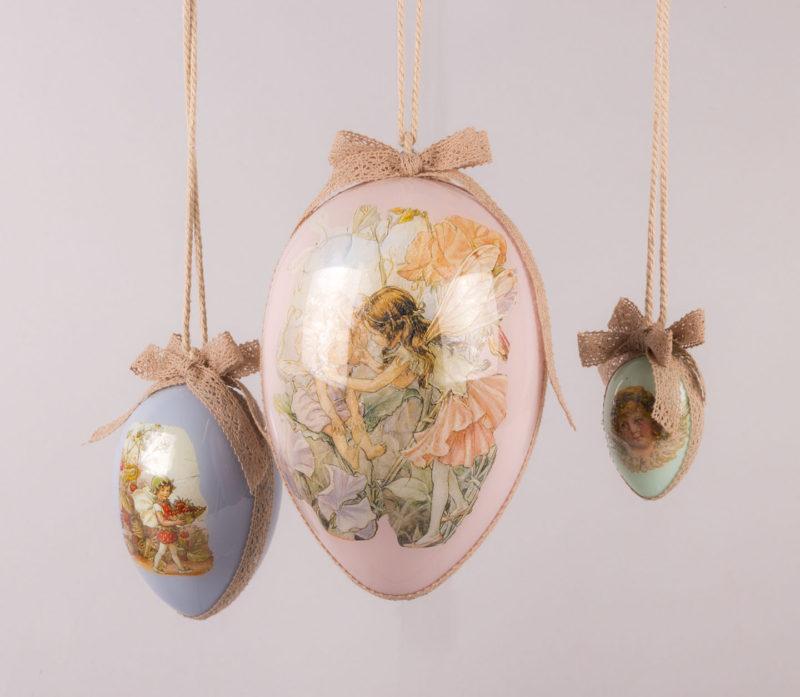Πασχαλινή διακόσμηση με κρεμαστά αυγά!
