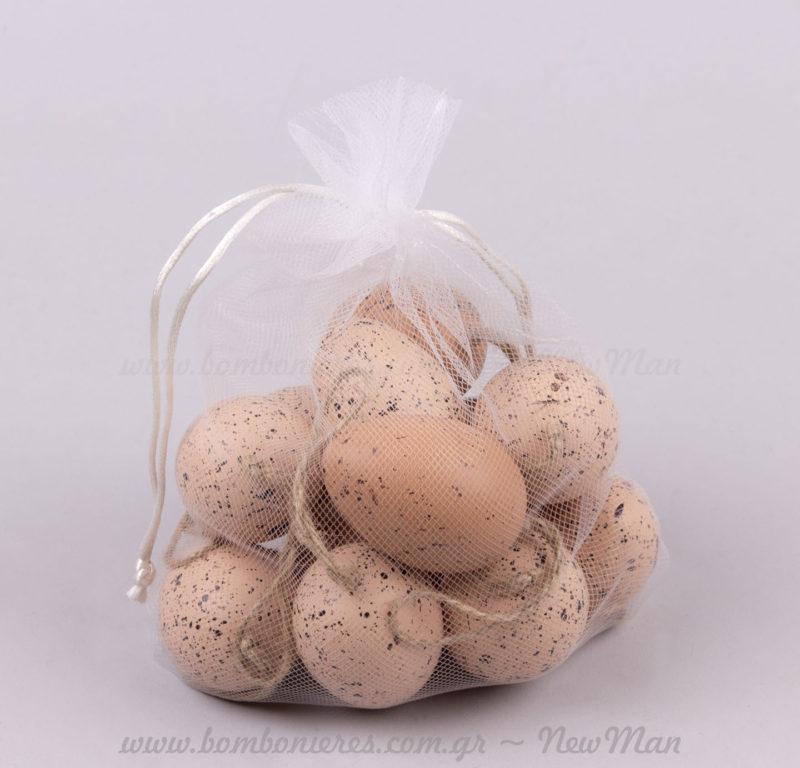 12 κρεμαστά στολίδια αυγά