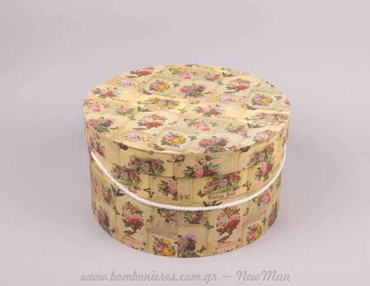 Κουτί καπελιέρα vintage