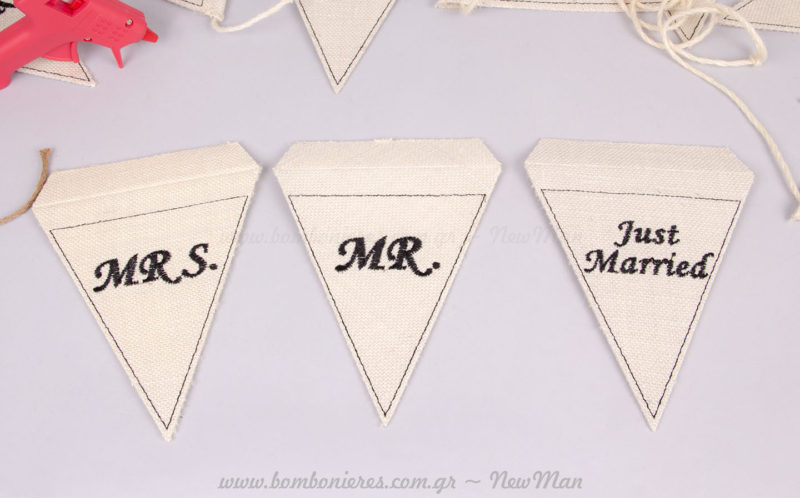 Mrs - Mr - Just Married