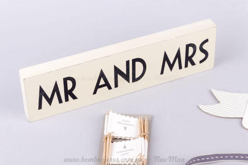 700756 - Κάδρο MR AND MRS