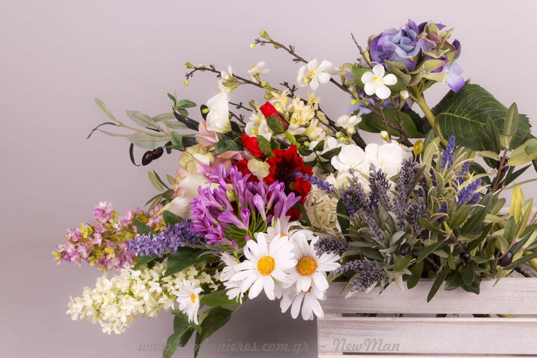 Διακοσμητικά άνθη, λουλούδια και κλαδιά