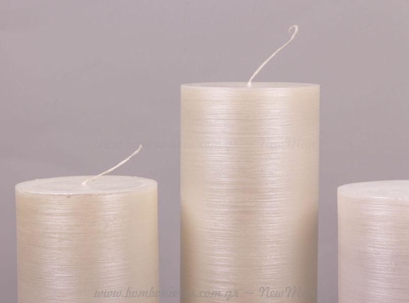 Κερί ξυστό πέρλα πάγου σε 2 μεγέθη