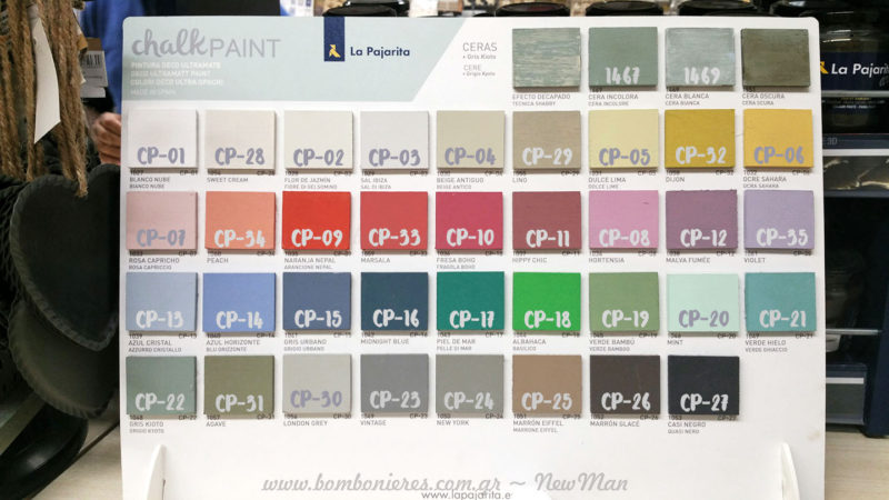 Chalk Paints χρώματα & κεριά