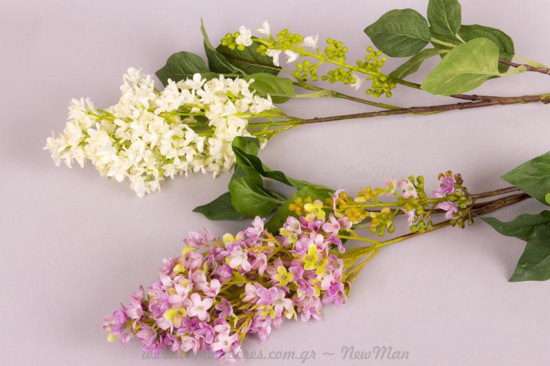 Τεχνητά διακοσμητικά λουλούδια