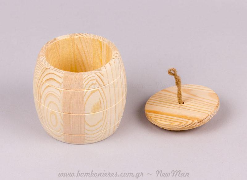 Κουτί ξύλινο με καπάκι