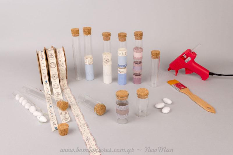Υλικά μπομπονιέρας για μοναδικές δημιουργίες
